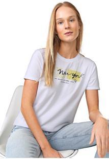 Blusa Calvin Klein Jeans New York Branca