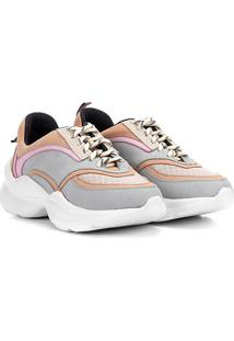 27e96cfd9 R$ 214,99. Netshoes Tênis Chunky Capodarte Sneaker Feminino ...