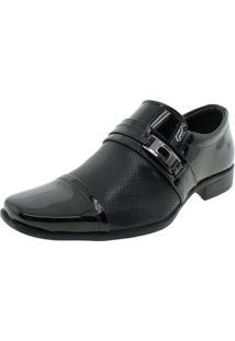 Sapato Masculino Social Garden Preto Valecci - 73055