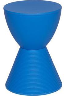 Banqueta Tube- Azul- 42,7Xø30Cm- Or Designor Design