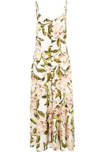 Mara Hoffman Vestido 'Gardenia' - Branco