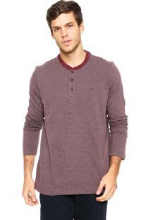 02fe002eb1 Camisa Pólo Polo Play Vinho masculina