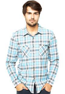 Camisa Oakley Drag Woven Ilumination Lbue