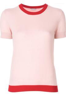 Moncler Blusa De Cashmere - Rosa