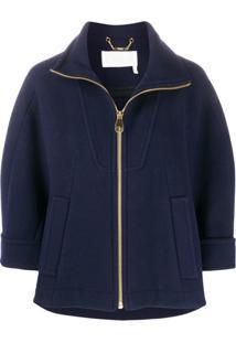 Chloé Mariner Wool Jacket - Azul