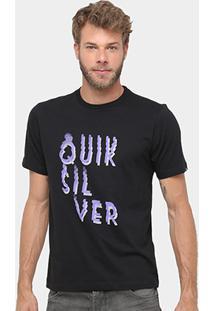 Camiseta Quiksilver Básica Smoke Masculina - Masculino