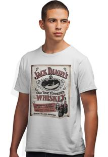 Camiseta Artseries Old Time Tenessee Whiskey Branco