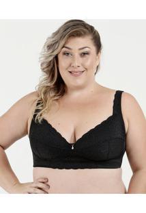 Sutiã Feminino Com Base Plus Size Dilady