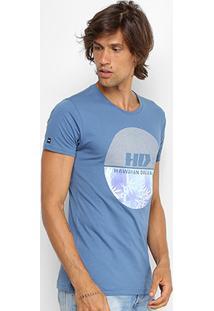 Camiseta Hd Slim Watercolor Masculina - Masculino
