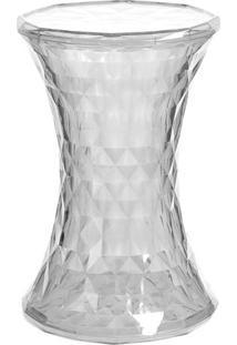 Banqueta Diamond- Incolor- 46,5Xã˜31Cm- Or Designor Design