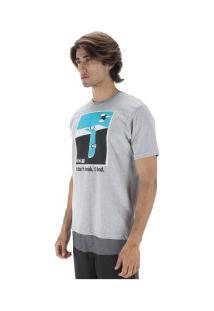 Camiseta Fatal Estampada 23016 - Masculina - Cinza