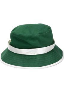 Casablanca Chapéu Bucket Com Detalhe De Fita - Verde