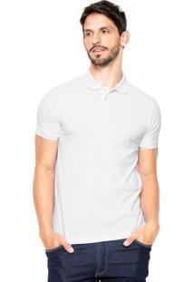 Camisa Polo Vr Logo Branca