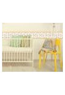 Adesivo De Parede Faixa Decorativa Infantil Abelhas 20Mx10Cm