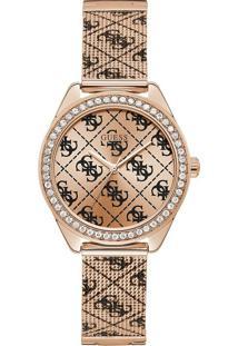 Relógio Guess Feminino Aço Rosé - W1279L3