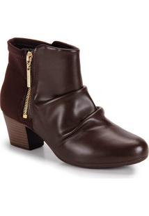 Ankle Boots Conforto Modare - Cafe