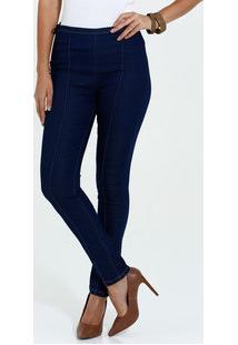 Calça Feminina Skinny Jeans Amarração Marisa