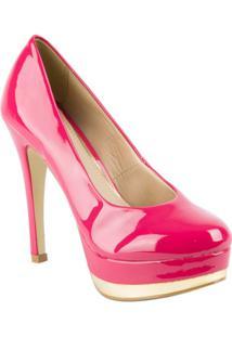 Sapato Meia Pata Gabrielle Cristina - Feminino-Pink
