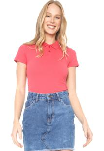 Camisa Polo Malwee Lisa Rosa