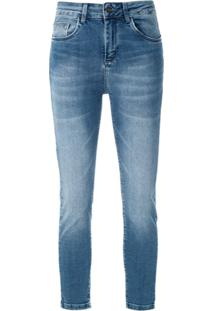 1d4cedef7 ... Le Lis Blanc Calça Jeans 'Paula' Capri - Azul