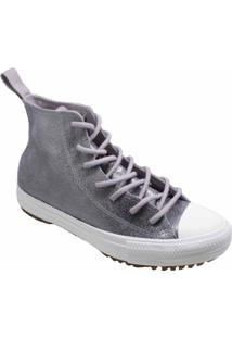 Tênis Converse All Star Boot Hi Cinza Ametista Ct13940002 - Kanui