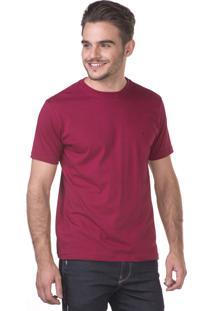 Camiseta Docthos Manga Curta Bordo