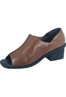 Sandália S2 Shoes Luciana Couro Chocolate