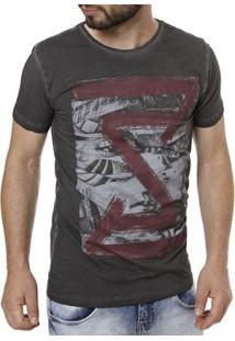 9e02a51cf ... Camiseta Manga Curta Masculina Preto