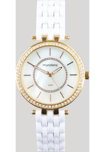 Relógio Analógico Mondaine Feminino - 53664Lpmvde2 Dourado - Único
