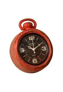Relógio De Parede Decorativo Louis Bréguet De Metal - Unissex