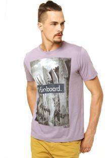 Camiseta Colcci Reta Roxa
