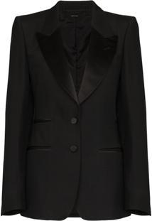 Tom Ford Single-Breasted Tuxedo Blazer - Preto