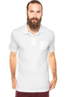 Camisa Polo M. Officer Bolso Branca