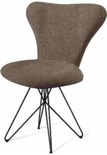 Cadeira Jacobsen Series 7 Chumbo Com Base Estrela Preta - 55925 - Sun House