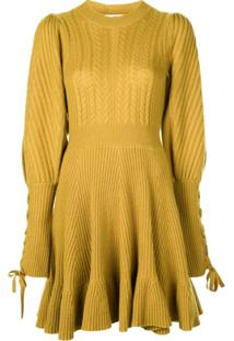 Ulla Johnson Vestido Renee - Amarelo