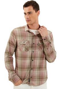 Camisa John John Dylan Xadrez Masculina Camisa Dylan-Xadrez-P