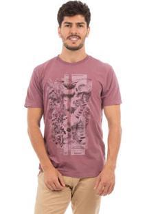 Camiseta Aes 1975 The Island Masculina - Masculino-Lilás