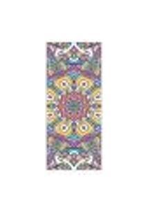 Adesivo Decorativo De Porta - Mandala - 286Cnpt Auto Colante