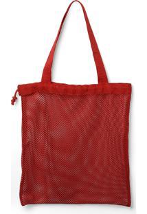 Bolsa Havaianas Beach Bag Cool Vermelho - Tricae