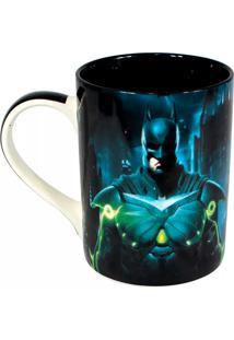 Caneca Injustice Batman X Superman Geek10 Preto