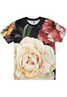 Camiseta Bsc Floral S Full Print - Masculino