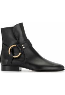 Chloé Ankle Boot Franky - Preto