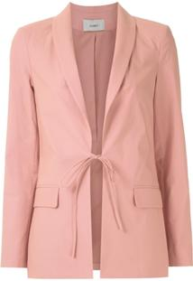 Egrey Blazer Com Amarração - Rosa
