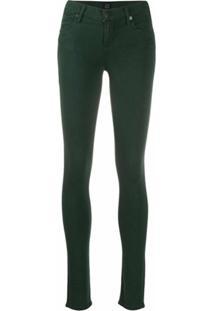 Citizens Of Humanity Calça Jeans Skinny Cintura Alta - Verde