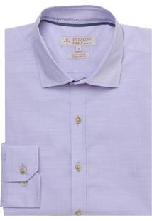 Camisa Ml Tc Fio Tinto Slub (Rosa Claro, 3)