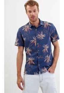 Camisa John John Surf Estampado Masculina Camisa Surf-Estampado-Gg