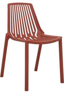 Cadeira Morgana Laranja Telha