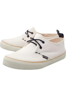 Mocassim Dockside Redley Liso Off-White