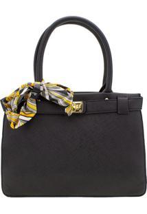 Bolsa Feminina Arara Dourada - T278 Preto