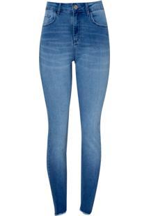 Calca Paula Skinny Light Blue (Jeans Claro, 40)